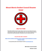 Mount Morris Student Council Disaster Relief
