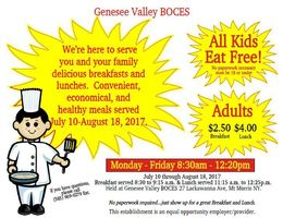 Kids Eat Free at the May Center