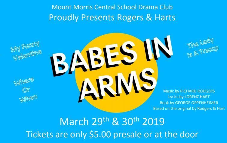 "The Mount Morris Drama Club Presents: ""Babes in Arms"""