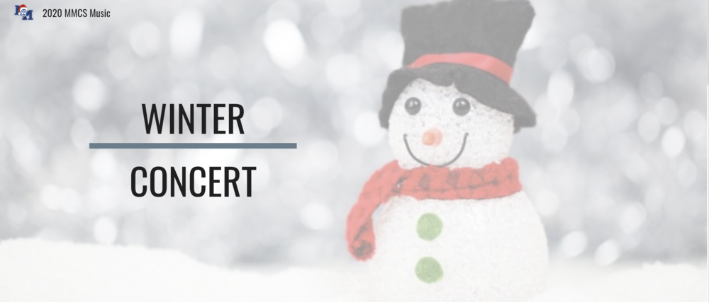 Welcome to our 2020 Winter Concert!