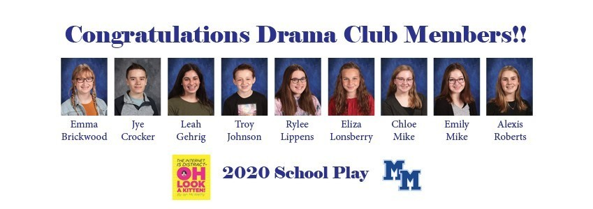 Congratulations to our Drama Club on a witty and entertaining performance!