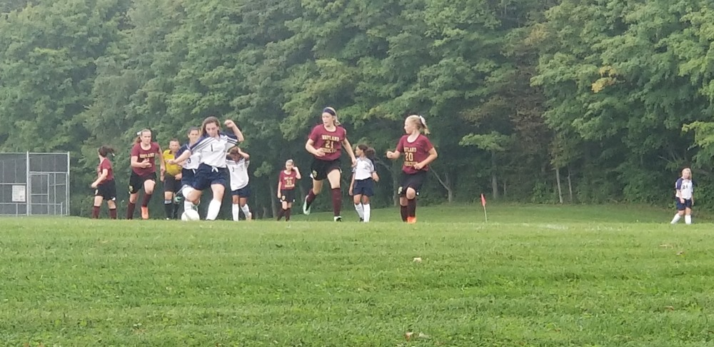 Modified Soccer has begun!