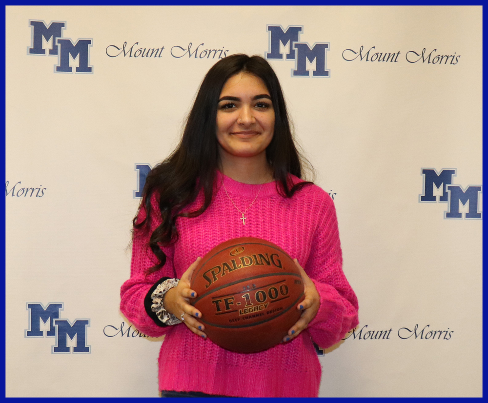 Sierra Somers Sets New School Basketball Records
