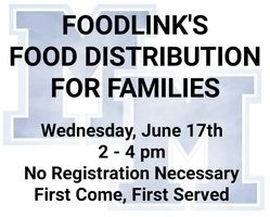 Foodlink's Food Distribution for Families