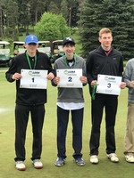 Ethan Provino takes second at LCAA Golf Championships
