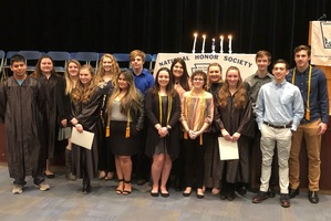 MMCSD Proudly Inducts Four New Members into The National Honor Society