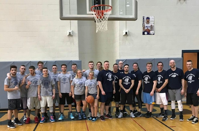MMCSD Alumni Basketball Game Participants