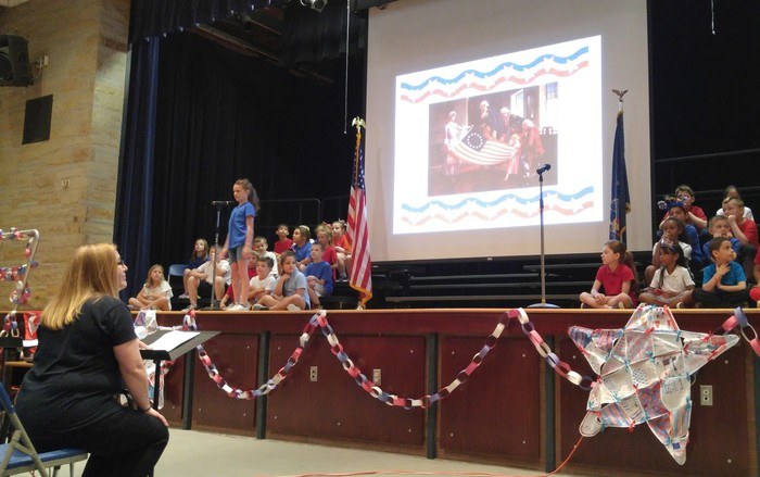 2nd Grade Flag Day Play