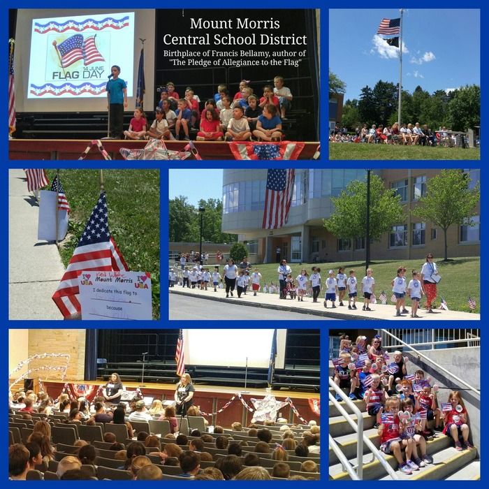 MMCSD 2018 Flag Day Celebration Collage