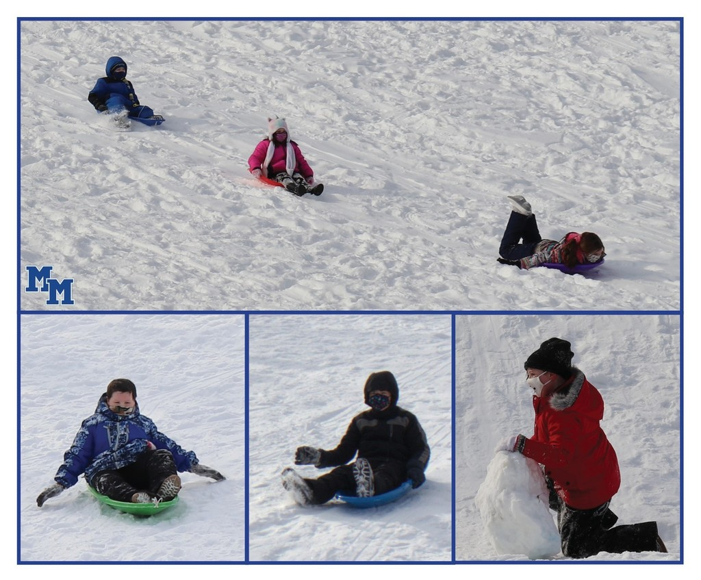 fourth grade sledding