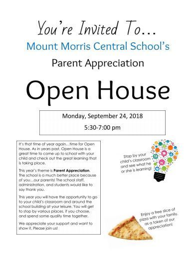 open house flier