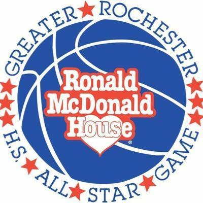 Rochester Ronald McDonald House All Star Game Logo