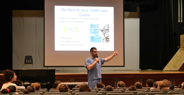 dental talk to elementary