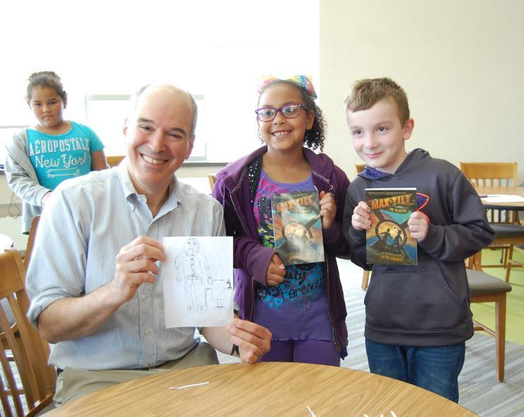 peter lerangis author visit