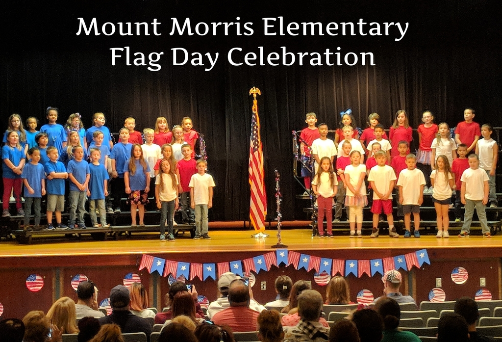2nd Graders in Flag Day Play
