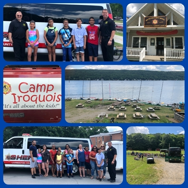 Sheriffs' Summer Camp Collage