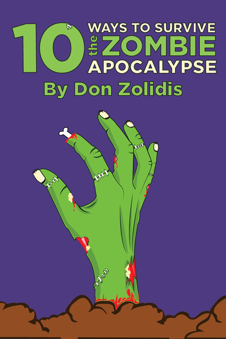 10 Ways to Survive the Zombie Apocalypse Flyer