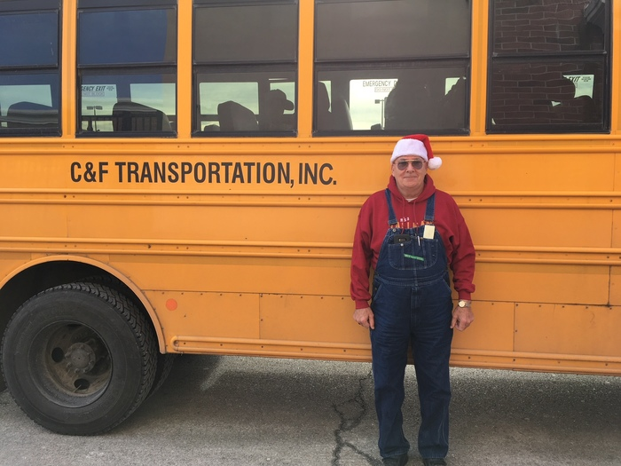 C & F Transportation Driver, Jerry Tallman