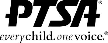 ptsa logo with motto every child one voice