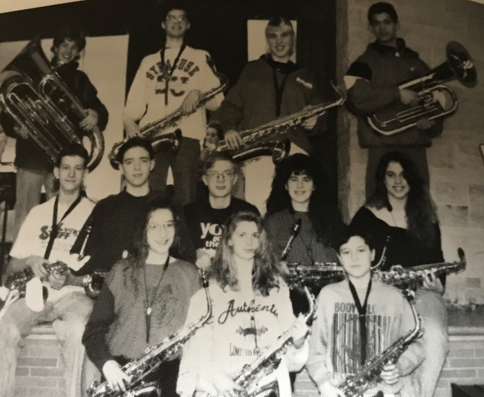 1993 school band group
