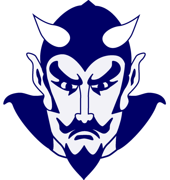 mount morris csd blue devil logo