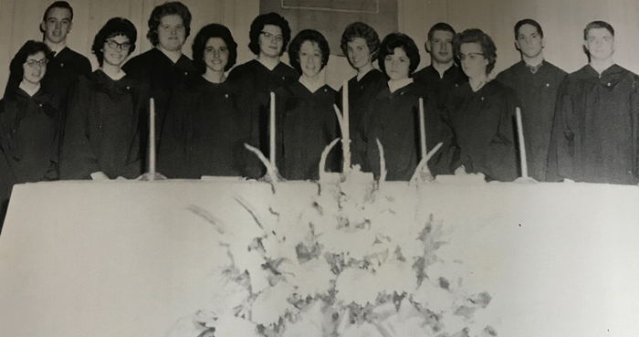 national honor society in 1964