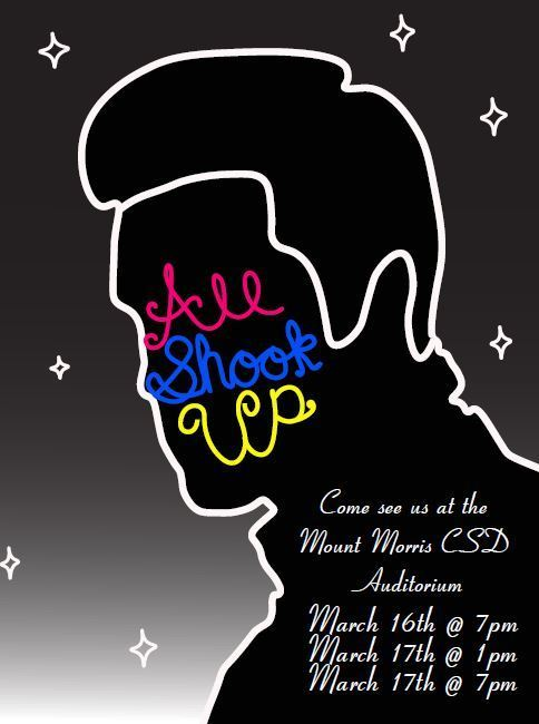 all shook up musical flier