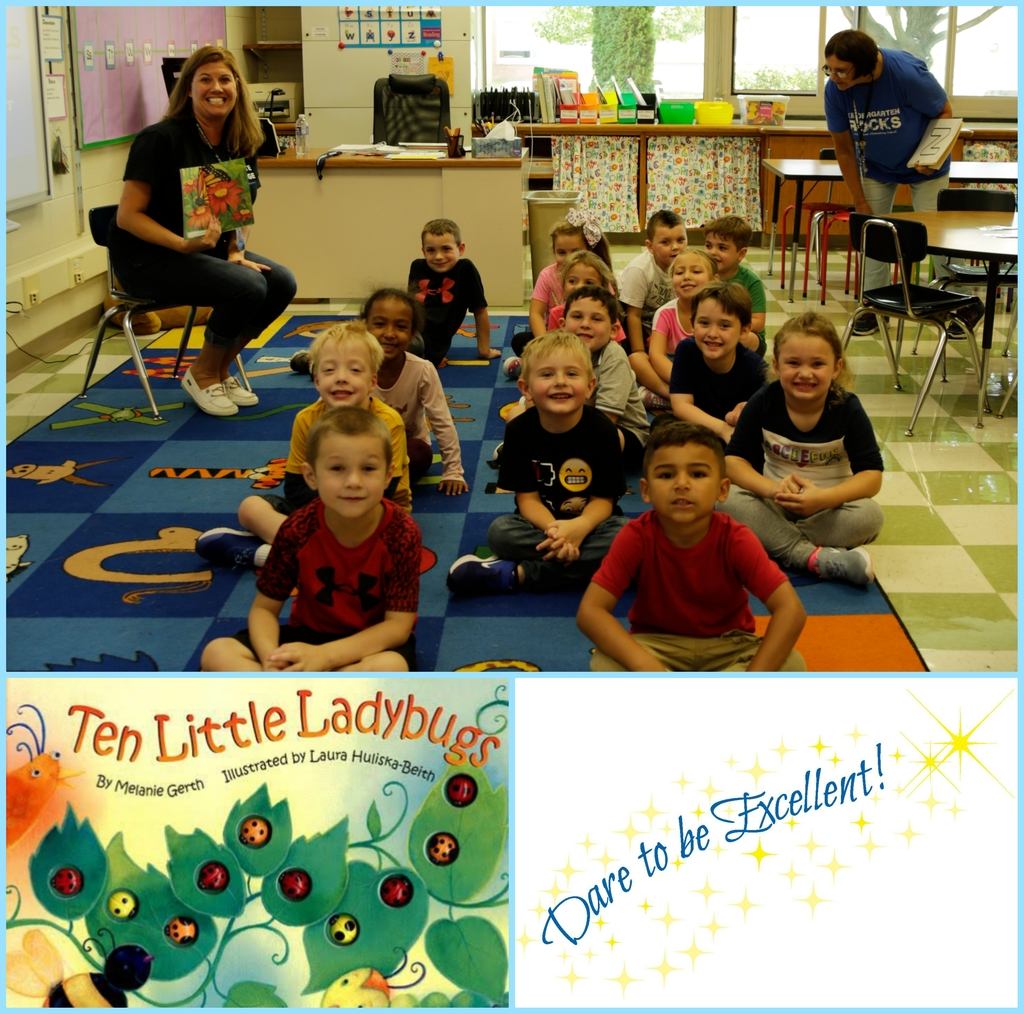 Mrs Harding reads Ten Little Ladybugs