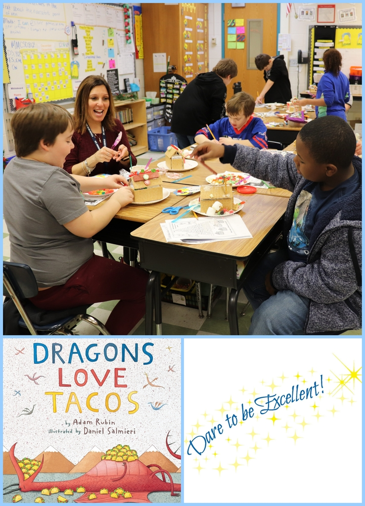 Mrs Davis reads Dragons Love Tacos
