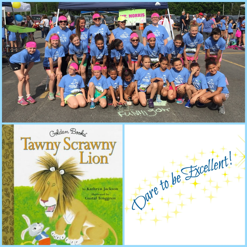 Mrs Becker reads Tawny Scrawny Lion