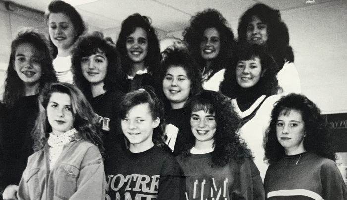 1993 chorus group of girls
